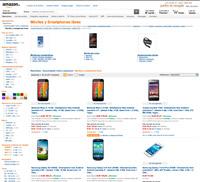 Tienda de móviles Amazon