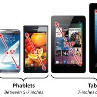 Diferencia entre Phablet, Smartphone y Tablet