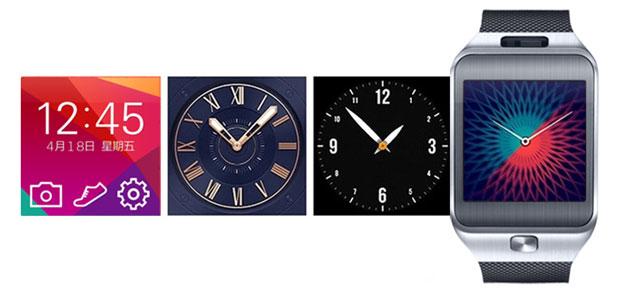 Elegir tipo de reloj en clon Gear 2