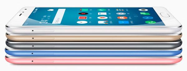 Colores a elegir en el nuevo Meizu Metal
