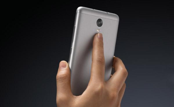 Redmi Note 3 lector de huellas dactilares