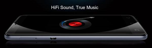 Ulefone Vienna audio alta fidelidad HiFi con amplificador
