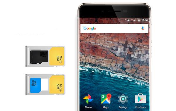 UleFone Future Dual SIM o tarjeta MicroSD