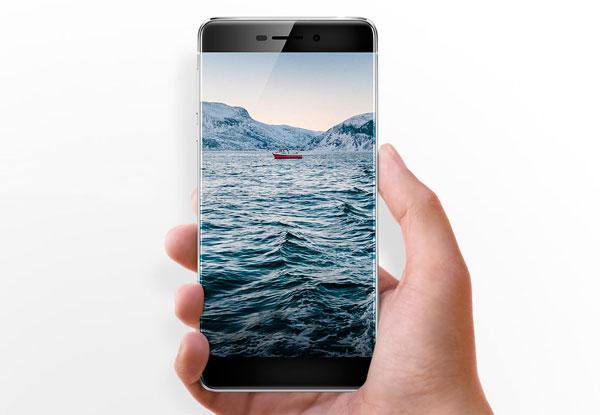 Ulefone Future pantalla sin marcos laterales