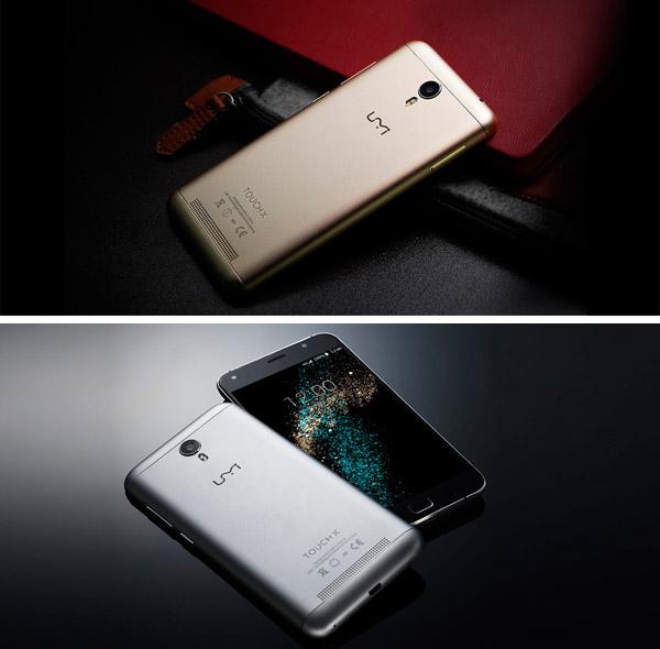 UMI Touch X diseño metáico en dos colores