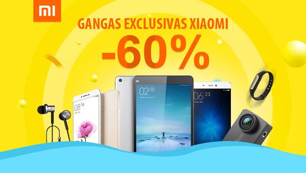 Gangas Xiaomi hasta el 60% de Descuento