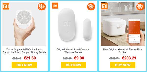 Productos de decoración para el hogar Xiaomi