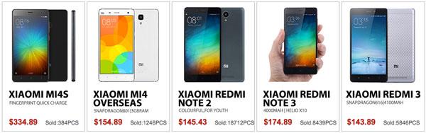 Promo marca Xiaomi en Gearbest