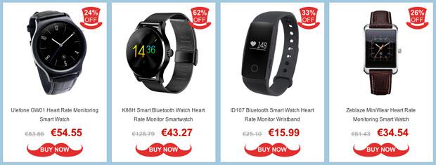 Promoción en relojes inteligentes