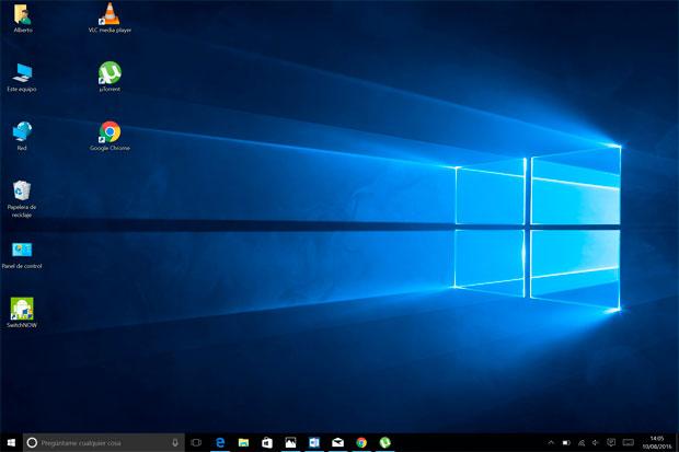 Chuwi Hi12 Windows 10 modo Escritorio
