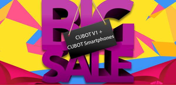 Ofertas Cubot en la tienda TomTop
