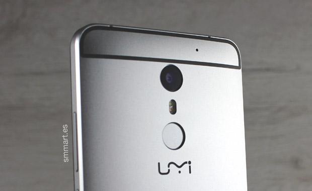 UMI Max trasera cámara 13 MP