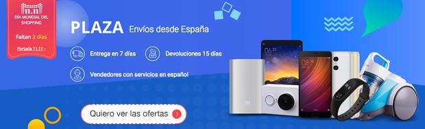 11.11 Aliexpress 2016 envío desde España