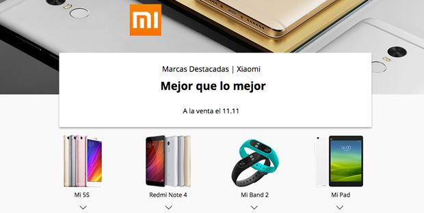 Aliexpress 11 del 11 2016 Xiaomi