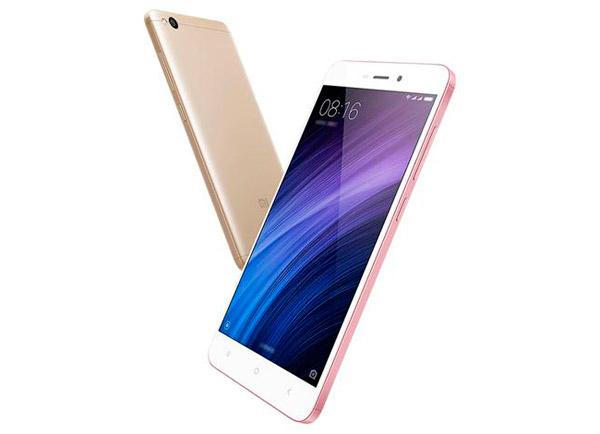 Colores Xiaomi Redmi 4A opiniones dorado rosa