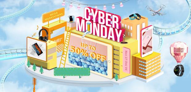 Ofertas Cyber Monday Gearbest 2017