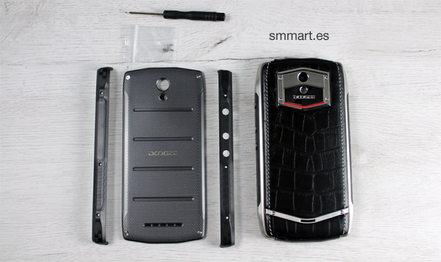 Carcasa d piel y carcasa moderna Doogee T5 Lite