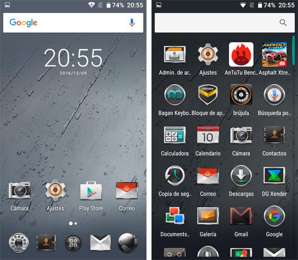 Doogee T5 Lite Android 6.0 launcher personalizado