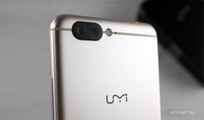 UMI Z cámara trasera Samsung enfoque láser