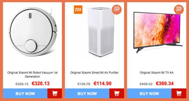 Productos para el hogar y decoración Xiaomi 2018