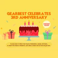 Top 10 más vendidos en el 3er aniversario Gearbest