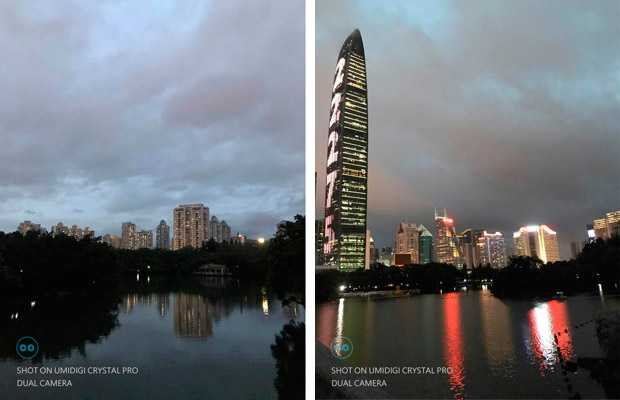 Fotos con la cámara Panasonic del UMIDIGI Crystal