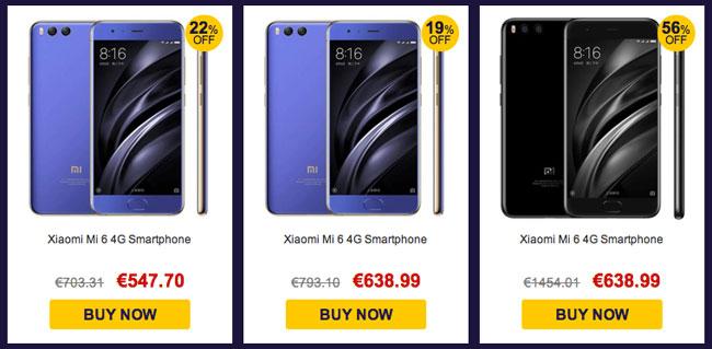 Promoción Mayo 2017 Xiaomi Mi6