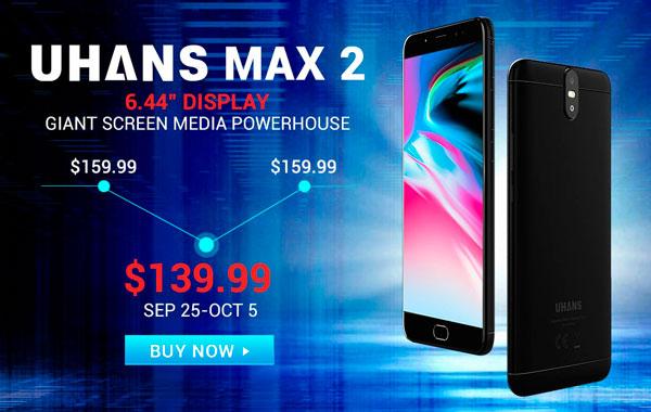 Uhans Max 2 dónde comprar barato