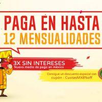 Gearbest México pago a plazos con cuotas sin intereses