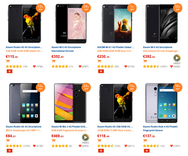 Los smartphones top ventas del año