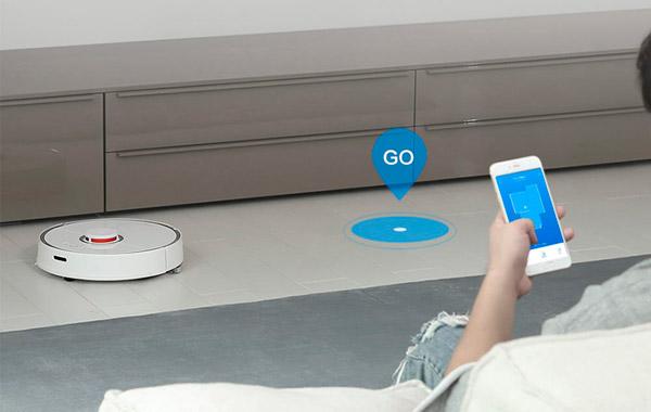 Xiaomi Roborock S50 Mi Robot Vacuum Cleaner APP smartphone