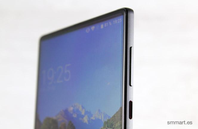 Elephone S8 botones de volumen y encendido