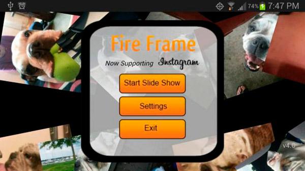 FireFrame - Digital Picture Frame