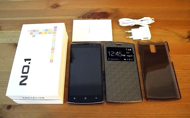 Contenido del móvil chino NO.1 OnePlus