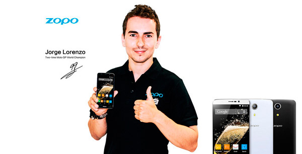 Jorge Lorenzo patrocina el nuevo ZOPO Speed 7