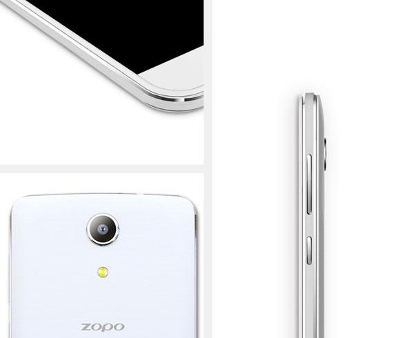Diseño y materiales del nuevo ZOPO Speed 7