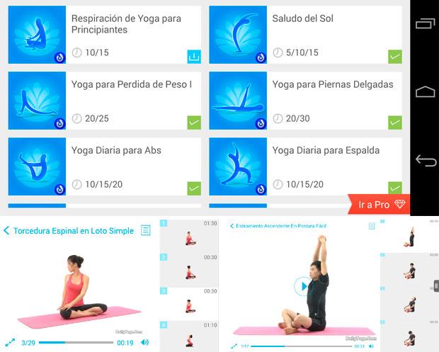 Ponerse forma haciendo Yoga en casa
