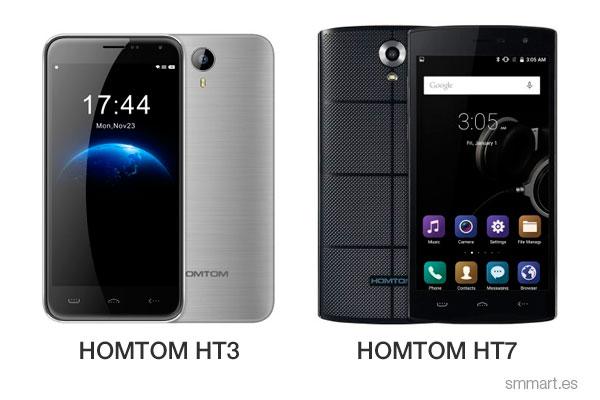 Ofertas HomTom HT3 y HT7