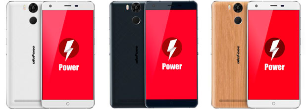 Ulefone Power colores traseras