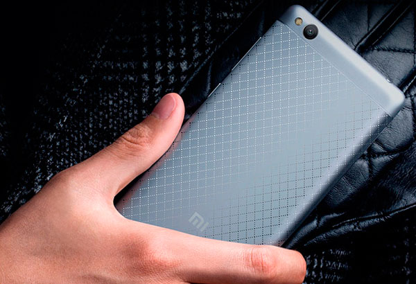 Xiaomi Redmi 3 cuerpo metálico