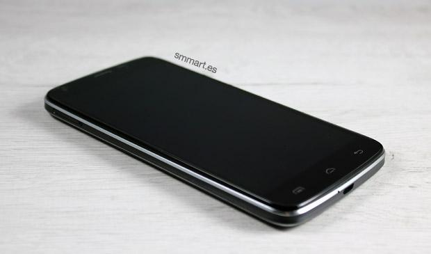 Diseño elegante Doogee T6 Pro color negro