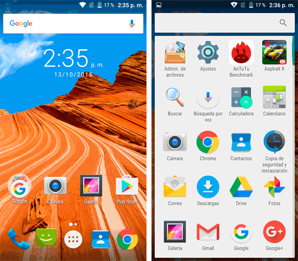 Cubot Max Android 6.0 de 6 pulgaas
