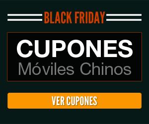 Black Friday Cupones móviles chinos 2017