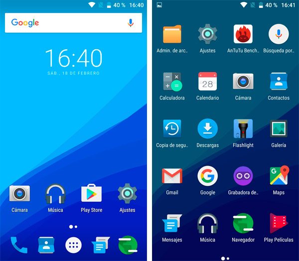 UMI Z Android 6.0 actualizable 7.0 Nougat