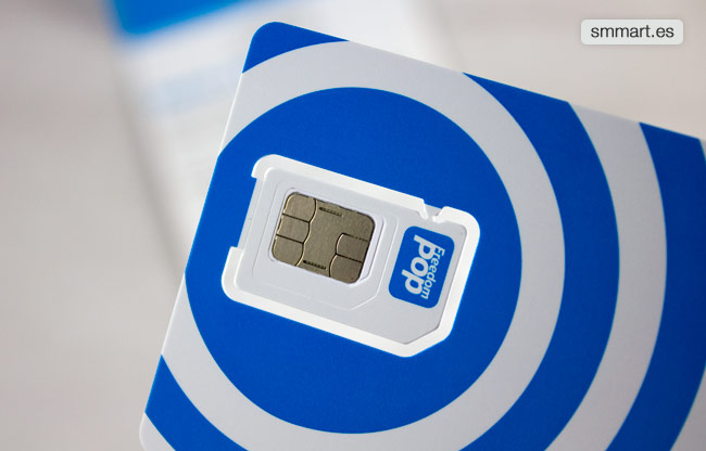 Tamaños tarjeta SIM, micro SIM y nano Sim FreedomPop