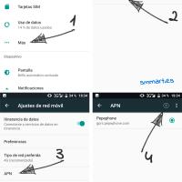 Cómo crear nuevo APN en un móvil libre