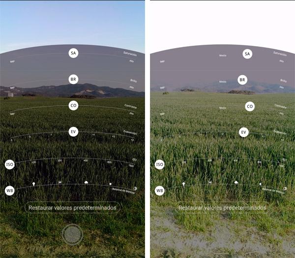 UMIDIGI Z Pro modo Pro Photo avanzado