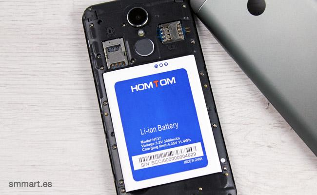 HomTom HT37 Dual SIM Batería extraíble