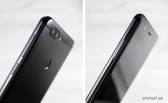 Elephone P8 Mini 4g Smartphone laterales