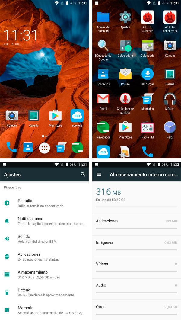 Elephone P8 Mini Android 7 ELE OS 1.0